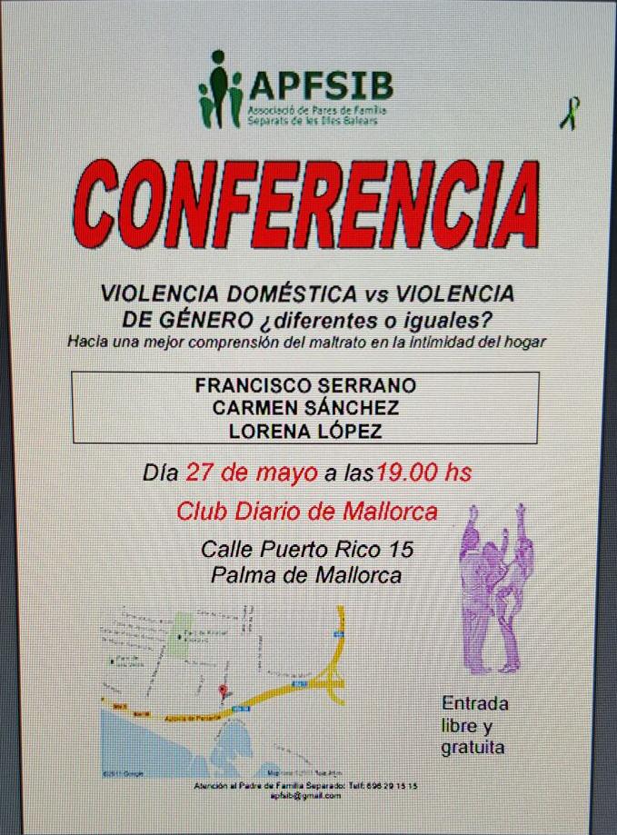 Conferencia Violencia Domestica vs Violencia de Genero